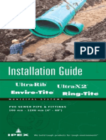 PVC Sewer Pipe Install Guide