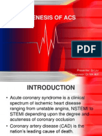 Pathogenesis ACS