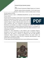 Curriculum Prof.ssa Mila Lucisano