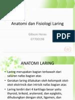 Anatomi Dan Fisiologi Laring