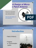 Micro Strip Antenna Design