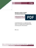 04 Comprender la hibridación- hacia un estudio de los espacios de comunicación intercultural _lie