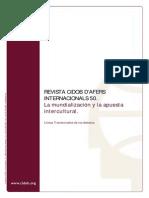 50 Líneas transversales de los debates - La mundialización y la apuesta intercultural lineastransv