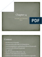 Grammar Presentations -- Chapter 14 and part of 15  Level 4