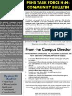 Task Force H1 Bulletin