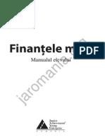 Manualul Elevului Finantele Mele