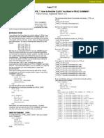 _type_ in Proc Summary