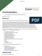 Fixed Drug Eruptions