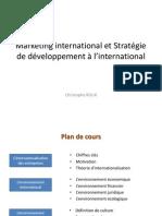 Introduction Au Marketing International Et Son Environnement