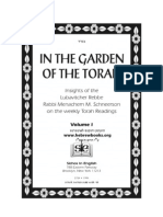 Rabbi Menachem Mendel Schneersohn - In the Garden of the Torah Volume 1