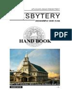 35th Aizawl Hmar Presbytery 2013 HAND BOOK