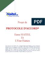 Franck CINE propose de payer ses dettes a travers un Protocole