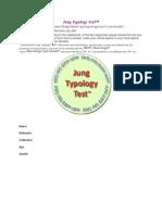 Jung Typology Test. Iidocx