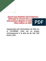 Jean Baptiste ClarckNeptune
