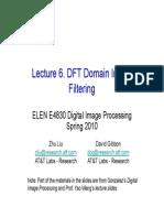DFT Domain Image