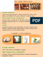 gruppi alimentari