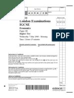 Exam Past Paper Chemistry June 2008