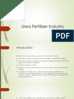 Urea Fertilizer Industry