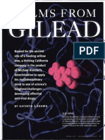 Article on Gilead Sciences and its Founder and CEO Dr. Michael L. Riordan