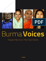 Burma Voices - People of Burma in Their Own Words