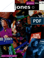 Tom Jones - Greatest Hits (Book)