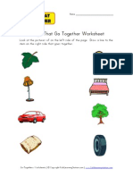 Go Togethers Worksheet1