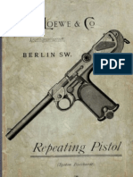 Repeating Pistol (System Borchardt)