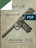 Repeating Pistol (System Borchardt)