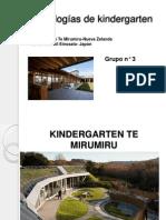 Tipologías de kindergarten