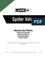 Spider Valve User Manual - Spanish ( Rev a )