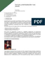 EL RÉGIMEN POLÍTICO DE LA RESTAURACIÓN Y SUS FUNDAMENTOS SOCIALES