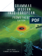 A Grammar of Modern Indo European Prometheus Edition