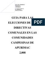 Guia Para Las Elecciones Comunales