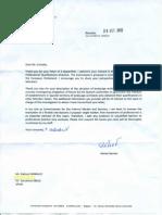 Mr Barnier Reply to Gabino Carballo and Original Letter to the Commission 2012