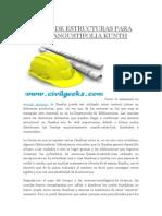Uniones de Estructuras Para Guadua Angustifolia Kunth2