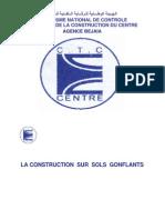 Construction Sur Sols Gonflants