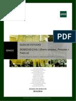 Guía 2ª D. Civil I