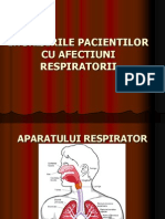 Ingrijirea Pacientilor Cu Afectiuni Pulmonare
