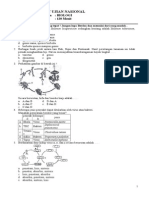 Soal Un Biologi Xii Ipa (Lat 1)