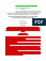 Decreto 094 de 1989 Tablas Capacidad Psicofísica