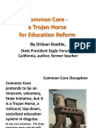 Common Core - Power Point