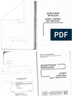 ESTRUTURAS METÁLICAS - PROJETO E DETALHES PARA FABRICAÇÃO