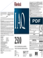 IAQ 2500-(8325) Label