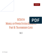 Power Systems Elements Lines