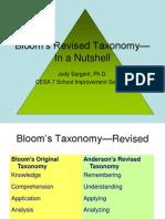 BloomsRevisedTaxonomy-InaNutshell