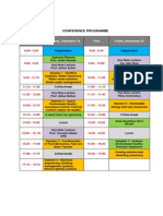 EENVIRO Conference Program
