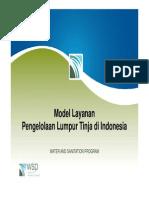 Model Layanan Pengelolaan Lumpur Tinja Di Indonesia