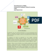 Estrategias didácticas usadas en las buenas prácticas educativas con twitter Unidad 3 Act. 3
