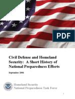 2006 Fema Civil Defense and Homeland Security 36p