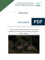Memoria Descriptiva 1